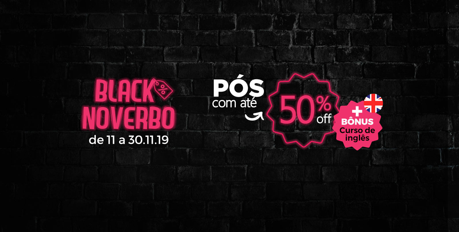 Black NoVerbo - Cursos de Pós